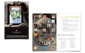 Photography Studio Brochure - Word Template & Publisher Template