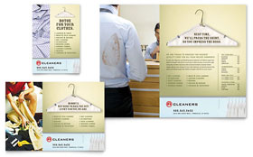 Laundry & Dry Cleaners Ad Template