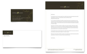 Women's Clothing Store Letterhead - Word Template & Publisher Template