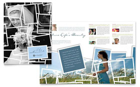 Photographer Brochure - Word Template & Publisher Template