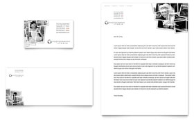 Photographer Letterhead - Word Template & Publisher Template