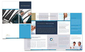 Small Business Consulting Brochure - Microsoft Office Template