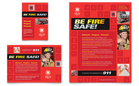 Fire Safety Leaflet Template