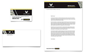 Military Letterhead - Word Template & Publisher Template