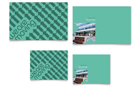 Office Moving Note Card Template