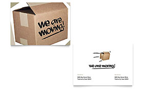 We're Moving Announcement - Microsoft Office Template