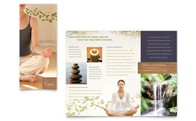 Naturopathic Medicine Brochure - Word Template & Publisher Template