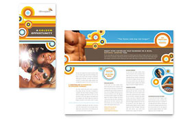 Tanning Salon Brochure - Word Template & Publisher Template