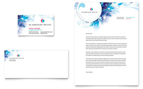 Cosmetology Letterhead - Word Template & Publisher Template