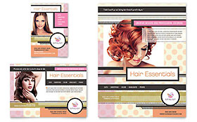Hairstylist Flyer & Ad - Microsoft Office Template