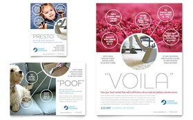 Carpet Cleaning - Flyer & Ad Template