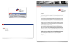 Legal & Government Services Letterhead - Word Template & Publisher Template