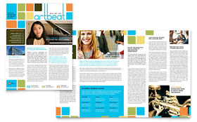 Arts Council & Education Newsletter - Microsoft Office Template