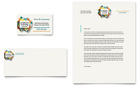 Writer's Workshop Letterhead - Word Template & Publisher Template
