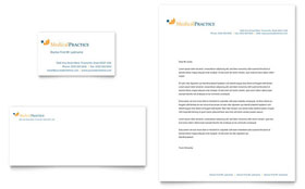 Medical Practice Letterhead - Word Template & Publisher Template