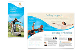 Physical Therapist Brochure Template
