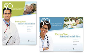 Family Physician - Poster Template