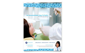 Dentistry & Dental Office Flyer - Microsoft Office Template