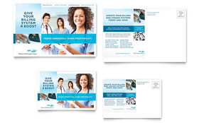 Medical Billing & Coding - Postcard Template
