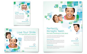 Orthodontist Flyer & Ad - Microsoft Office Template