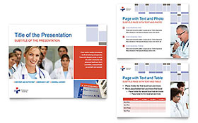 Hospital Presentation - Microsoft PowerPoint Template