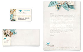 Hospice & Home Care Letterhead - Word Template & Publisher Template