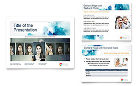 Behavioral Counseling Presentation - Microsoft PowerPoint Template