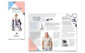 Home Medical Equipment Brochure - Word Template & Publisher Template
