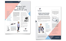 Home Medical Equipment Datasheet - Microsoft Office Template
