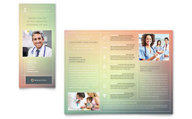 Medical Clinic Brochure Template