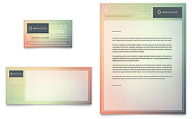 Medical Clinic Letterhead - Word Template & Publisher Template