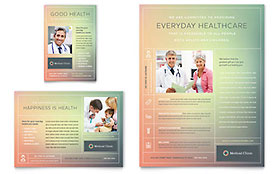 Medical Clinic Flyer & Ad - Microsoft Office Template