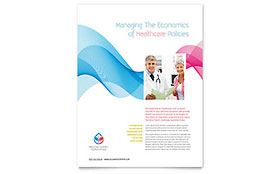 Insurance Consulting Leaflet Template