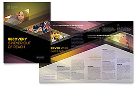 Rehab Center Brochure - Office Template