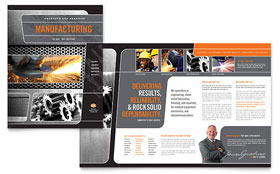 Manufacturing Engineering Brochure - Word Template & Publisher Template