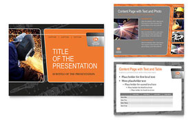 Manufacturing Engineering PowerPoint Presentation - PowerPoint Template