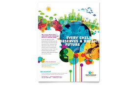 Youth Program Leaflet Template