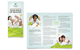 Foster Care & Adoption Brochure - Word Template & Publisher Template