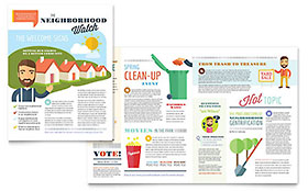 Homeowners Association Newsletter - Word Template & Publisher Template