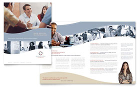 Marketing Consulting Group Brochure - Microsoft Office Template
