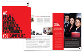 Business Executive Coach Brochure Template