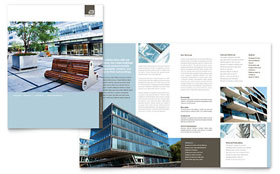 Architect Brochure - Word & Publisher Template