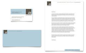 Architect Letterhead - Word Template & Publisher Template