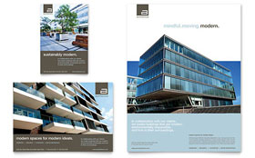 Architect Flyer & Ad - Microsoft Office Template