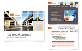 Civil Engineers - PowerPoint Presentation Template
