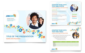 Job Expo & Career Fair PowerPoint Presentation - Microsoft Office Template