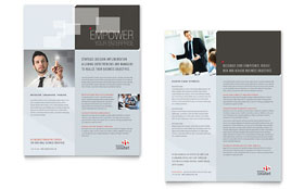 Corporate Business Sales Sheet Template