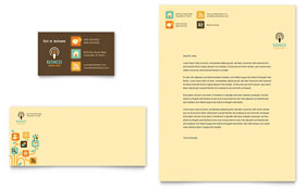Business Services Letterhead Template