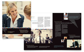 Human Resource Management Brochure - Word Template & Publisher Template