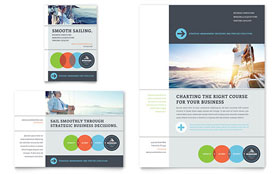 Business Analyst Ad - Word Template & Publisher Template